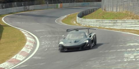 McLaren P1 LM sets new Nurburgring record