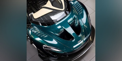 McLaren P1 GT Longtail teased by Lanzante