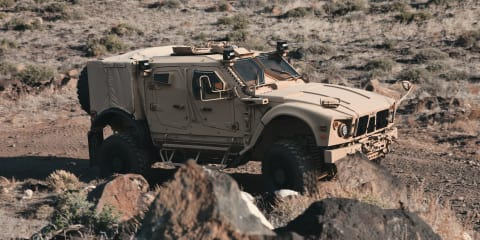 Humvee replacement to use GM's Duramax turbo diesel V8