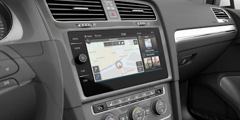 Volkswagen E-Golf Touch:: next-gen infotainment previewed at CES