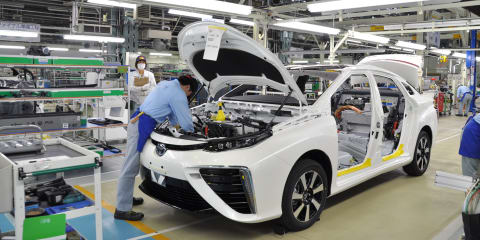 Toyota supplier explosion forces production halt in Japan - UPDATE