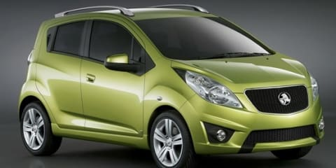 2010 Holden Spark here by October