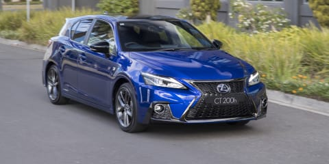 2018 Lexus CT200h pricing and specs