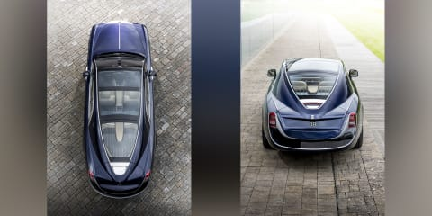 Rolls-Royce 'Sweptail' one-off debuts in Italy
