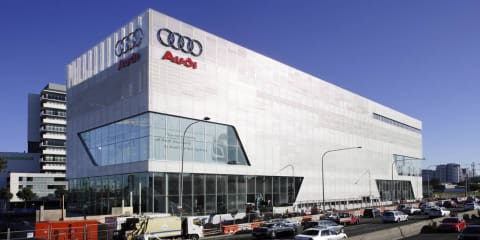 Audi plays down end of dream sales run in Australia