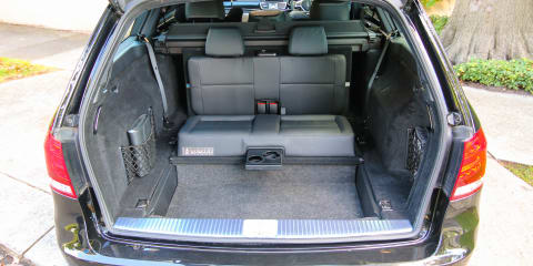 Mercedes-Benz E-Class: wagon's tricky 'dickie' rear seats