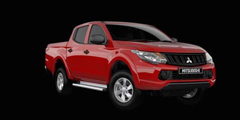 Mitsubishi Triton GLX+ model on sale now