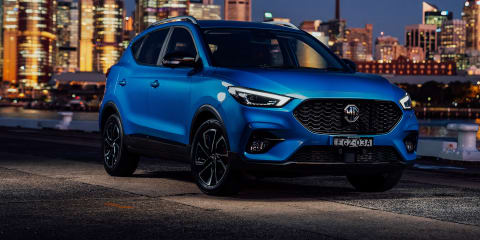 2021 MG ZST price and specs: Facelifted, powered-up SUV arrives