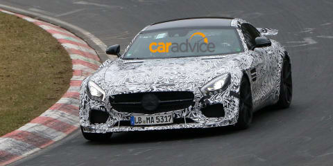 Mercedes-AMG GT :: Hardcore, possible Black Series prototype spied testing