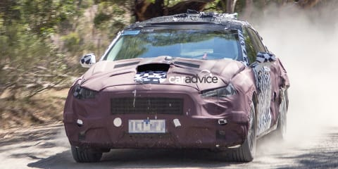 2017 Ford Taurus and Taurus SHO spied testing in Melbourne