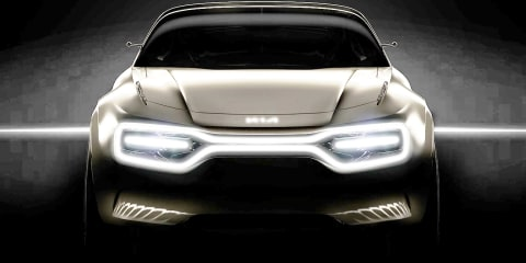 Kia teases electric concept for Geneva