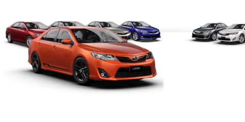 Toyota Camry RZ : Sporty special edition from $31,990