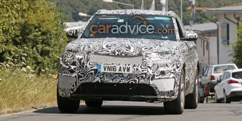Range Rover Sport Coupe could be company's first EV, will share parts with Jaguar F-Pace - report
