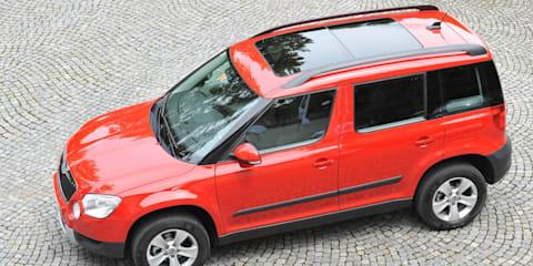 Skoda Yeti scores five-star EuroNCAP rating