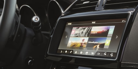 2017 Jaguar XE gains new infotainment system