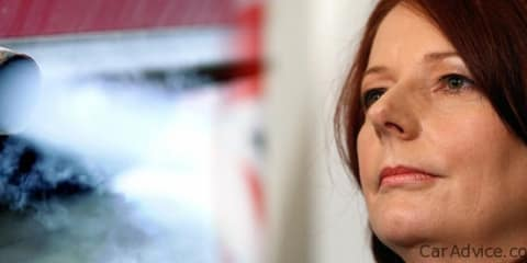 Julia Gillard & Climate Change - don't blame the car