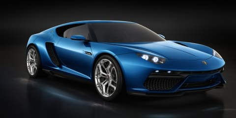 Lamborghini Asterion LPI 910-4 plug-in hybrid concept supercar revealed