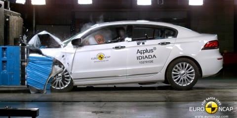 Qoros 3 sedan: first five-star Euro NCAP rated Chinese-developed car