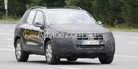 2011 Volkswagen Touareg spy pics
