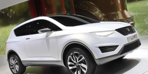 SEAT IBX production version to be based on Audi Q3