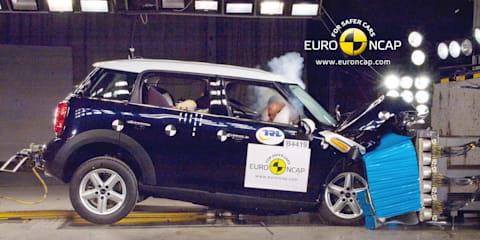 Euro NCAP awards 10 vehicles 5-star safety rating
