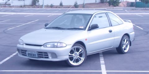 1995 Mitsubishi Lancer Review