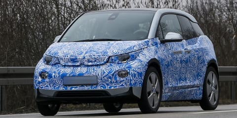BMW i3: production-ready model spied