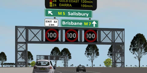 QUT study finds multiple road signs not a distraction