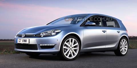 2012 Volkswagen Golf VII leaked and rendered