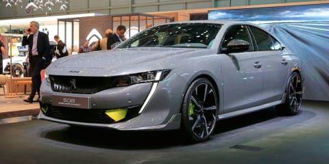Peugeot 508 Sport Engineered concept revealed for Geneva
