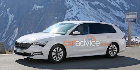 2020 Skoda Octavia spied ahead of Frankfurt debut