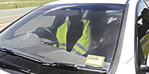 Decommissioned cars, fake police combat NSW speeding