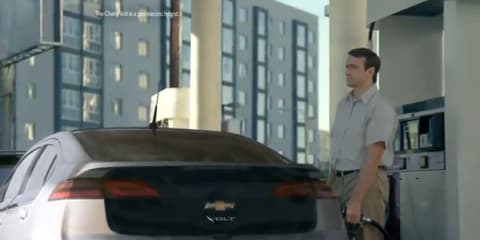 Nissan LEAF TV advertisement takes on Chevrolet Volt