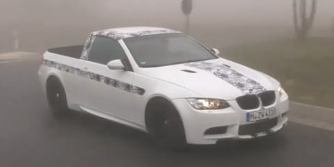 Video: BMW M3 ute April Fools' Day joke