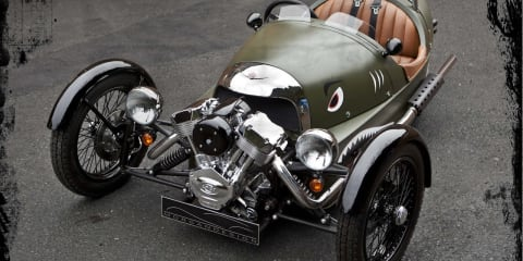Morgan Threewheeler popularity may force production increase