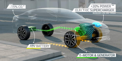 Kia looks to supercharged hybrid technology for future models