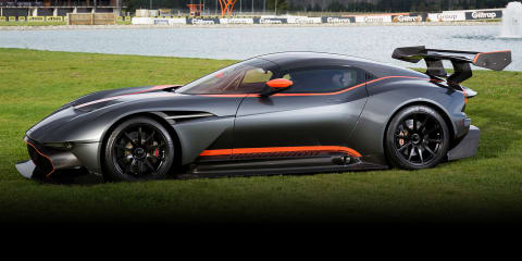 Aston Martin Vulcan:: Southern Hemisphere's first delivery hits New Zealand