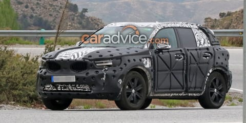 2018 Volvo XC40 spied inside and out