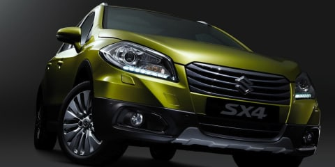 New Suzuki SX4 revealed