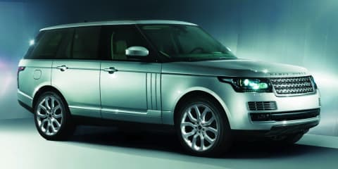 2013 Range Rover: First official pictures of luxury SUV