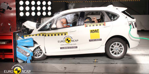 """Extremely confusing"" four-star ANCAP score for BMW 2 Series Active Tourer"