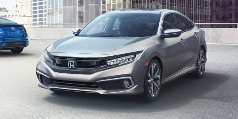 2019 Honda Civic facelift unveiled in the US