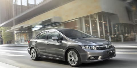 2012 Honda Civic pricing and specifications