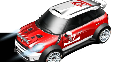 MINI Countryman to join World Rally Championship in 2011