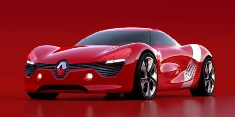 Renault DeZir previewed ahead of 2010 Paris Motor Show