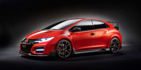 Honda Civic Type R : beefy hot-hatch concept leaked