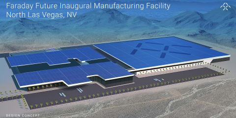 Faraday Future reveals plans for North Las Vegas EV production plant