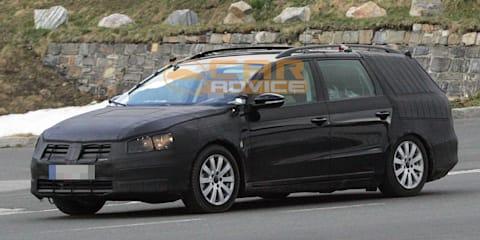 2011 Volkswagen Passat touring wagon spied