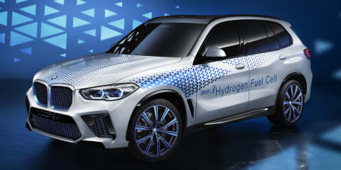 BMW i Hydrogen Next unveiled