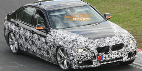 2012 BMW ActiveHybrid 3 spy shots